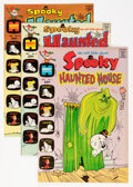 Bronze Age (1970-1979):Humor, Spooky Haunted House File Copies Group (Harvey, 1972-75) Condition:Average NM-.... (Total: 41 Comic Books)