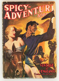 Pulps:Adventure, Spicy Adventure Stories - January 1940 (Culture, 1940) Condition: GD....
