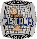 Basketball Collectibles:Others, 2003-04 Detroit Pistons World Championship Ring....