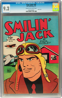Four Color #36 Smilin' Jack (Dell, 1944) CGC NM- 9.2 Cream to off-white pages