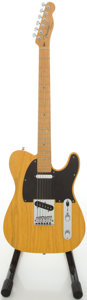 Musical Instruments:Electric Guitars, 2007 Fender Telecaster Butterscotch Solid Body Electric Guitar,#DZ7062397....