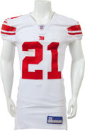 Football Collectibles:Uniforms, 2006 Tiki Barber Game Worn, Signed New York Giants Jersey....