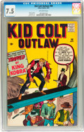 Silver Age (1956-1969):Western, Kid Colt Outlaw #98 (Atlas/Marvel, 1961) CGC VF- 7.5 Off-whitepages....