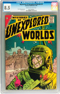 Silver Age (1956-1969):Science Fiction, Mysteries of Unexplored Worlds #8 (Charlton, 1958) CGC VF+ 8.5Cream to off-white pages....