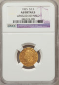 Early Quarter Eagles, 1825 $2 1/2 -- Whizzed, Repaired -- NGC Details. AU. NGC Census:(2/40). PCGS Population (1/39). Mintage: 4,434. Numismedia...