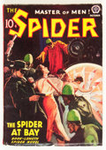 Pulps:Hero, The Spider - October 1938 (Popular, 1938) Condition: VG/FN....