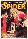 Pulps:Hero, The Spider - September 1938 (Popular, 1938) Condition: FN-....