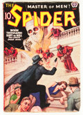 Pulps:Hero, The Spider - May 1938 (Popular, 1938) Condition: VG/FN....