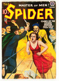 Pulps:Hero, The Spider - January 1939 (Popular, 1939) Condition: VG+....