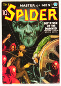 Pulps:Hero, The Spider - January 1937 (Popular, 1937) Condition: FN-....