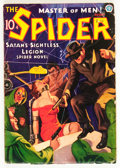 Pulps:Hero, The Spider - August 1936 (Popular, 1936) Condition: VG+....
