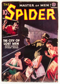 Pulps:Hero, The Spider - February 1938 (Popular, 1938) Condition: VG....