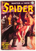 Pulps:Hero, The Spider October 1937 (Popular, 1937) Condition: VG+....
