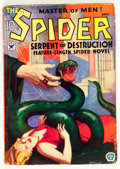 Pulps:Hero, The Spider - April 1934 (Popular, 1934) Condition: GD/VG....