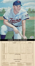 Baseball Collectibles:Others, Harmon Killebrew Signed Oversized Print. ...