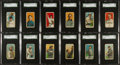 Baseball Cards:Lots, 1909-11 T206 White Borders Baseball SGC Graded Collection (12). ...