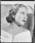 "Movie Posters:Miscellaneous, Fay Wray (1930s). Eastman Kodak Nitrate Negative (7.5"" X 9.5"").Miscellaneous.. ..."