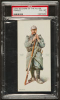 "Non-Sport Cards:Singles (Pre-1950), 1910s E252 Wilbur's Chocolate ""Soldiers of the Allies - France"" PSAEX-MT 6 - Pop One, One Higher! ..."