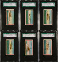 "Non-Sport Cards:Sets, 1910 E3 American Caramel ""Navy Caramels"" Complete Set (21)...."
