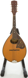 Musical Instruments:Banjos, Mandolins, & Ukes, Circa 1920's Regal Style A Natural Mandolin....