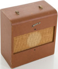 Musical Instruments:Amplifiers, PA, & Effects, 1950's Harmony Meteor Model 1430 Brown Guitar Amplifier....