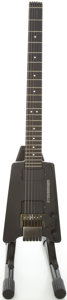 Musical Instruments:Electric Guitars, Early 1980's Steinberger L2 Black Solid Body Electric Guitar, #P-109....
