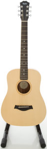 Musical Instruments:Acoustic Guitars, 2002 Taylor Baby 305 Natural Acoustic Guitar, #20020417312....