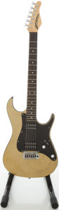 Musical Instruments:Electric Guitars, Zion Gold Sparkle Solid Body Electric Guitar, #090326 1....