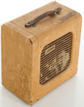 Musical Instruments:Amplifiers, PA, & Effects, 1954 Gretsch Electromatic Tweed Guitar Amplifier, #X34444....