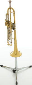 Musical Instruments:Horns & Wind Instruments, Circa Early 1970's Bach Stradivarius Model 37 Trumpet, #59304....