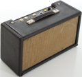 Musical Instruments:Amplifiers, PA, & Effects, 1966 Fender Blackface Reverb Unit, #R10025....