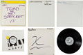 Music Memorabilia:Recordings, 1980s Acetates and Test Pressing Group.... (Total: 6 Items)