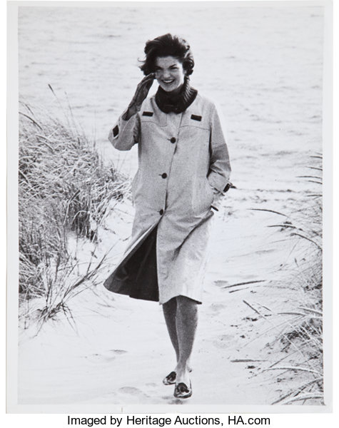 A Jackie Kennedy News Photo     Movie/TV Memorabilia Photos | Lot