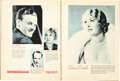 """Movie Posters:Miscellaneous, Warner Brothers-First National Exhibitor Book Lot (Warner Brothers-First National, 1931-1932). Exhibitor Books (2) (9"""" X 12""""... (Total: 2 Items)"""