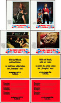 "Movie Posters:Sexploitation, I Am a Groupie (Constantin-Film, 1970). German Lobby Card Set (24)(9.25"" x 11.75"").. ... (Total: 24 Items)"