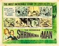 "Movie Posters:Science Fiction, The Incredible Shrinking Man (Universal International, 1957). HalfSheet (22"" X 28"") Style A.. ..."