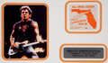 Music Memorabilia:Memorabilia, Bruce Springsteen All Access Pass, The River Tour (1981)....