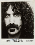 Music Memorabilia:Autographs and Signed Items, Frank Zappa Signed Publicity Photo....