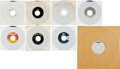 Music Memorabilia:Recordings, Rolling Stones/Mick Jagger Acetate, Promos, and Picture Sleeve Group (1980s).... (Total: 8 )