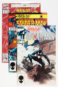 Modern Age (1980-Present):Superhero, Web of Spider-Man Short Box Group (Marvel, 1984-95) Condition:Average NM....