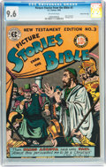 Golden Age (1938-1955):Religious, Picture Stories from the Bible: New Testament Edition #3 GainesFile pedigree 11/12 (EC, 1946) CGC NM+ 9.6 Off-white pages....