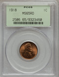 1918 1C MS65 Red PCGS. PCGS Population (234/115). NGC Census: (106/26). Mintage: 288,104,640. Numismedia Wsl. Price for...