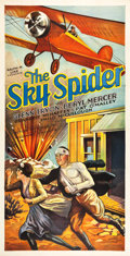 "Movie Posters:Drama, The Sky Spider (Action, 1931). Three Sheet (41"" X 81"").. ..."