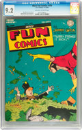 Golden Age (1938-1955):Superhero, More Fun Comics #100 (DC, 1944) CGC NM- 9.2 Off-white to white pages....