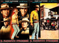 "Movie Posters:Western, The Magnificent Stranger (Unidas, 1966). Italian Photobusta Set of10 (18.5"" X 26.5"").. ... (Total: 10 Items)"