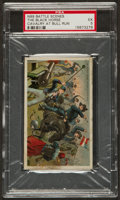 "Non-Sport Cards:Singles (Pre-1950), 1887 N99 Duke ""Battle Scenes - The Black Horse Cavalry at Bull Run""- PSA EX 5 - Highest PSA Grade Recorded. ..."