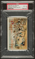 "Non-Sport Cards:Singles (Pre-1950), 1887 N99 Gail & Ax ""Battle Scenes - The Attack on Federal CampShiloh"" - PSA VG-EX 4. ..."