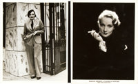 """Marlene Dietrich by Don English (Paramount, Early 1930s). Portrait Photos (2) (8"""" X 10""""). ... (Total: 2 Items)"""