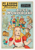 Golden Age (1938-1955):Classics Illustrated, Classics Illustrated #49 Alice in Wonderland - first edition(Gilberton, 1948) Condition: VF/NM....