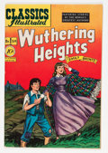 Golden Age (1938-1955):Classics Illustrated, Classics Illustrated #59 Wuthering Heights - first edition(Gilberton, 1949) Condition: VF-....